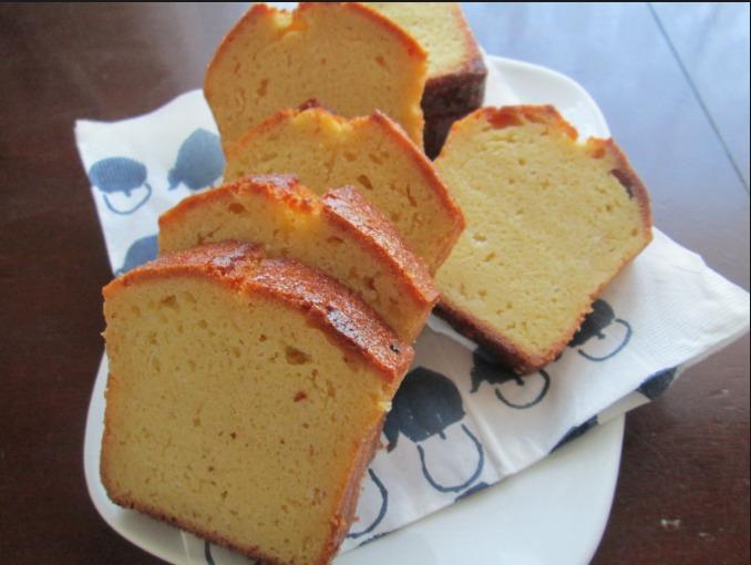 酒粕とおからのパウンドケーキ