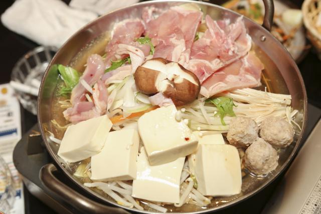 酒粕鍋料理