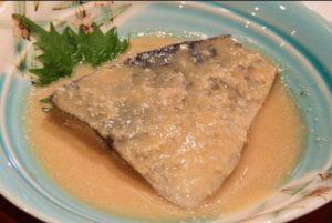 鯖の酒粕味噌煮